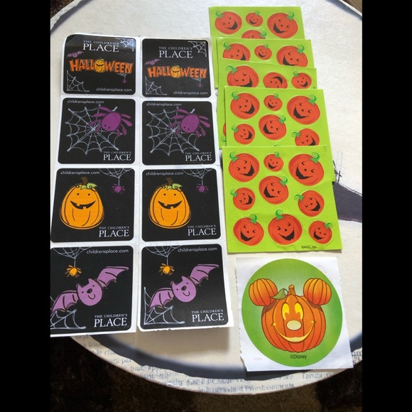 Other - Lot of assorted Halloween stickers